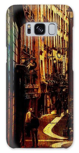 Street Of Paris Galaxy Case