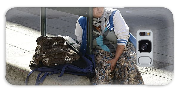 Street People - A Touch Of Humanity 10 Galaxy Case by Teo SITCHET-KANDA