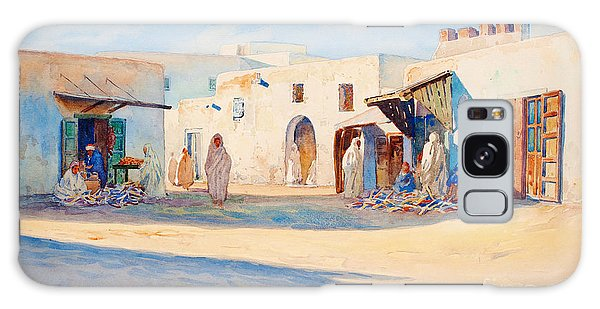 Street Scene From Tunisia. Galaxy Case