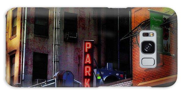 Graffiti And Grand Old Buildings Galaxy Case by Miriam Danar