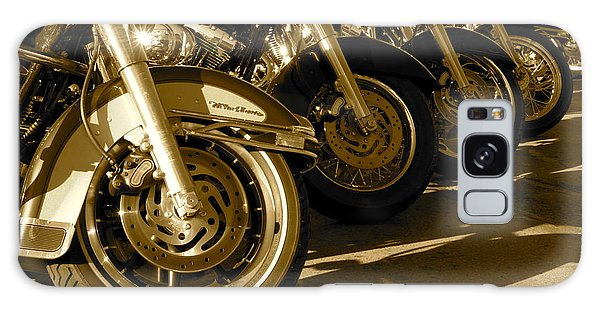 Street Vibrations Sepia Galaxy Case by Vinnie Oakes