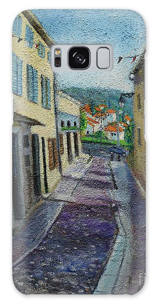 Street View From Provence Galaxy Case