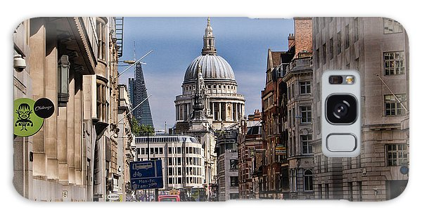 Street View Of St Paul's Cathedral Galaxy Case by Nicky Jameson