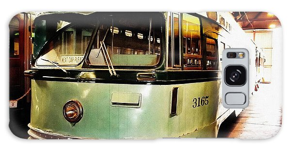 Streetcar 3165 Galaxy Case by Glenn McCarthy Art and Photography