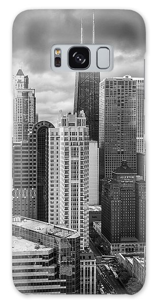 Streeterville From Above Black And White Galaxy S8 Case