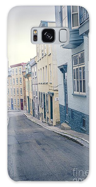 Cultural Center Galaxy Case - Streets Of Old Quebec City by Edward Fielding