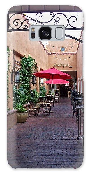 Streets Of Santa Fe Galaxy Case by Sylvia Thornton