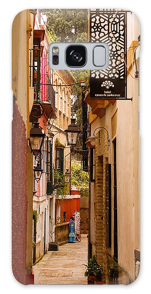 Streets Of Seville  Galaxy Case