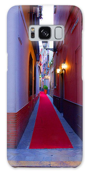 Streets Of Seville - Red Carpet  Galaxy Case