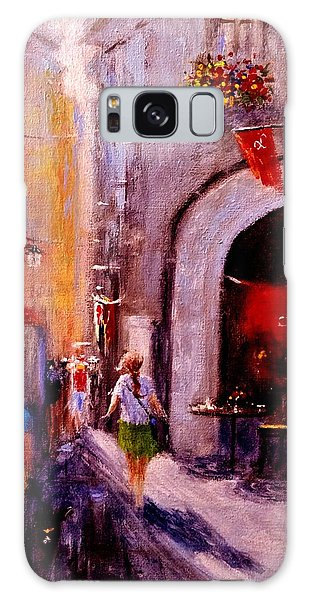 Streets Of Vernazza.. Galaxy Case