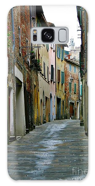 Streetscape Tuscany Galaxy Case