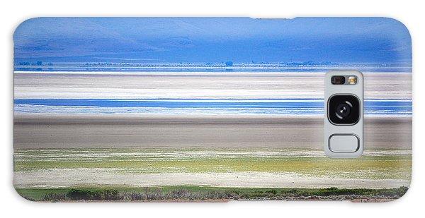 Striations At Honey Lake Galaxy Case by AJ  Schibig