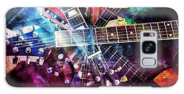 Strings Attached Galaxy Case by Randi Grace Nilsberg