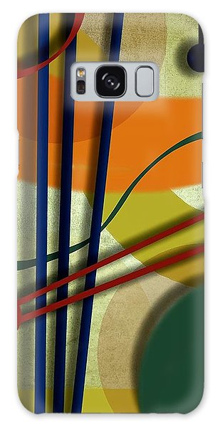 Abstract Strings Galaxy Case by Ron Grafe