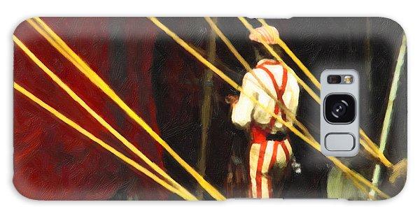 Striped Pants Galaxy Case