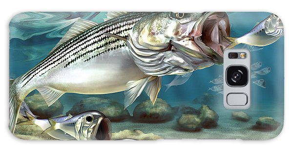 Striper - The True Monster Of Montauk Galaxy Case