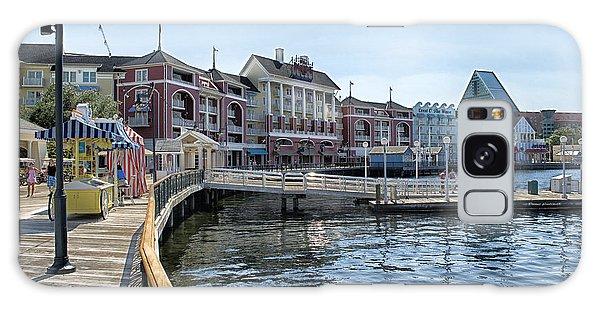 Walt Disney Galaxy Case - Strolling On The Boardwalk At Disney World by Thomas Woolworth