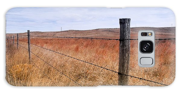 Strong Prairie Fences Galaxy Case