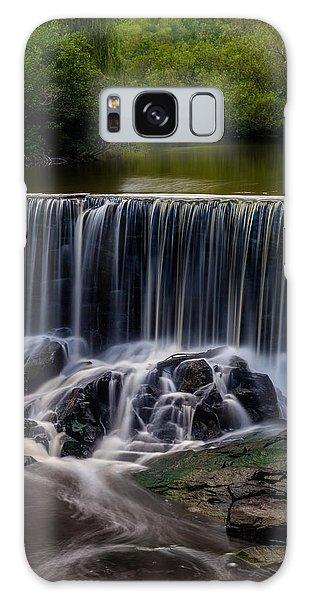 Stroudwater Falls Galaxy Case