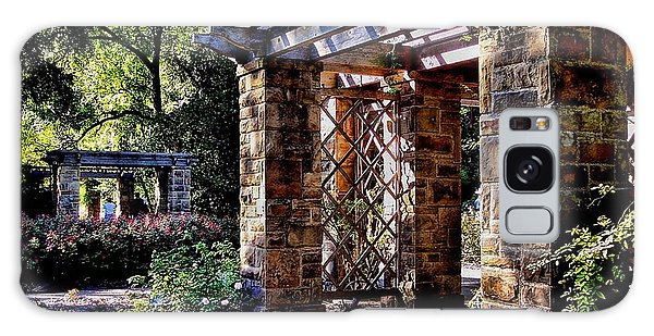 Structures In Ft Worth Botanic Gardens Galaxy Case