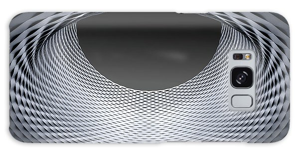 Round Galaxy Case - Strukturen by Anette Ohlendorf