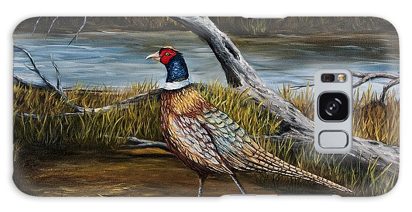 Strutting Pheasant Galaxy Case