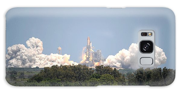 Sts-132, Space Shuttle Atlantis Launch Galaxy Case by Science Source