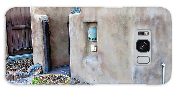 Stucco Condo In Santa Fe Galaxy Case