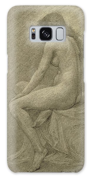 Beautiful Girl Galaxy Case - Study For Lilith by Robert Fowler