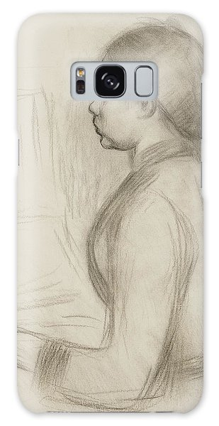 Impressionistic Galaxy Case - Study Of A Young Girl At The Piano by Pierre Auguste Renoir