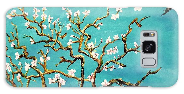 Study Of Almond Branches By Van Gogh Galaxy Case by Donna Dixon