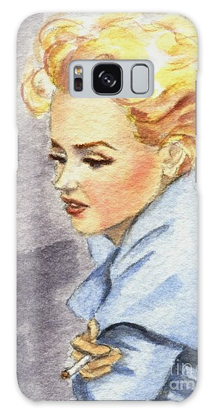 study of Marilyn Monroe Galaxy Case