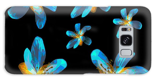 Study Of Seven Flowers #4 Galaxy Case