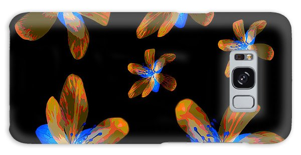 Study Of Seven Flowers #5 Galaxy Case
