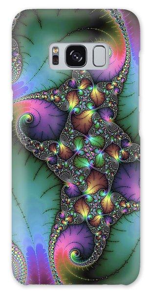 Galaxy Case featuring the digital art Stunning Mandelbrot Fractal by Matthias Hauser