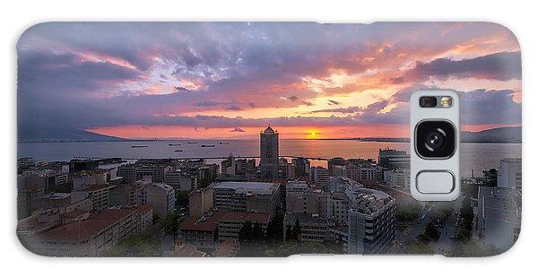 Stunning Sunset Galaxy Case