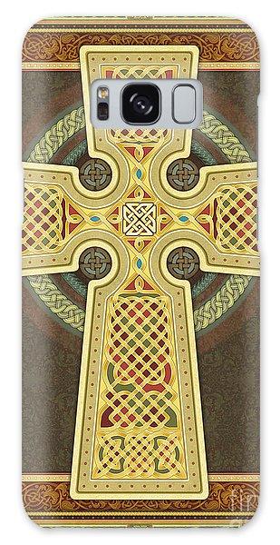 Stylized Celtic Cross Galaxy Case