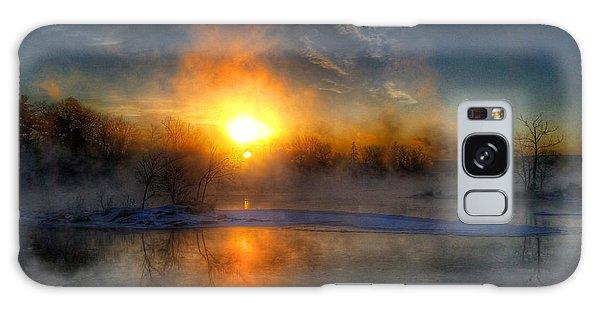 Sub Zero Sunrise Galaxy Case by Brook Burling