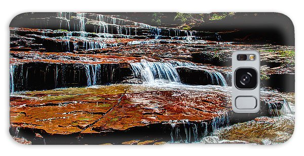 Outdoor Galaxy Case - Subway Falls by Chad Dutson