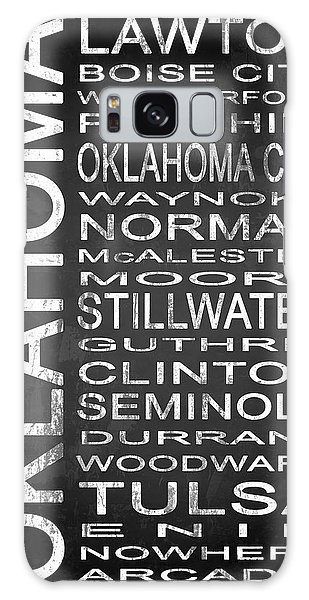Tulsa Ok Galaxy Case - Subway Oklahoma State 1 by Melissa Smith