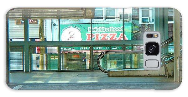 Subway Pizza Galaxy Case