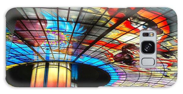 Subway Station Ceiling  Galaxy Case