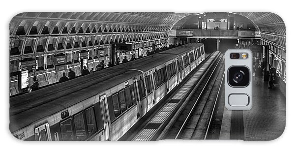 Subway Train Galaxy Case by Lynn Palmer