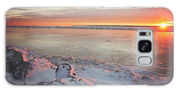 Sunrise Galaxy Case - Subzero Sunrise by Carrie Ann Grippo-Pike