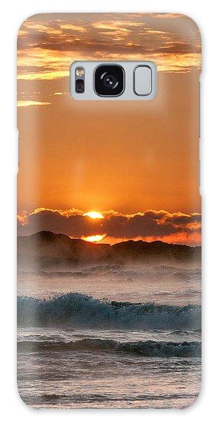 Subzero Sunrise Galaxy Case
