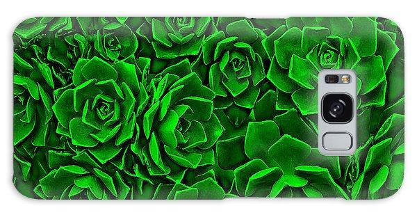 Succulent Green Galaxy Case