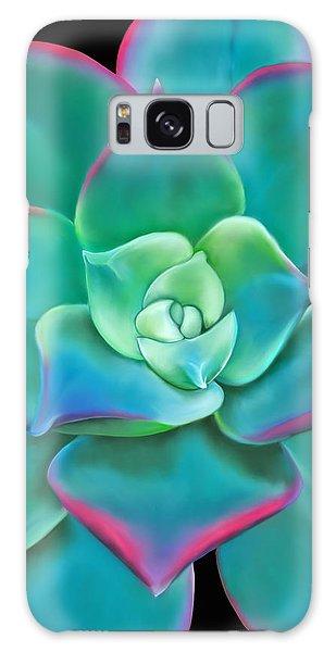 Succulent Aeonium Kiwi Galaxy Case