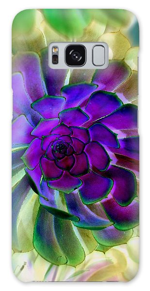 Succulent Transformation Galaxy Case by Antonia Citrino
