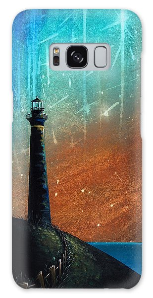 Lighthouse Galaxy Case - Such A Night As This by Cindy Thornton