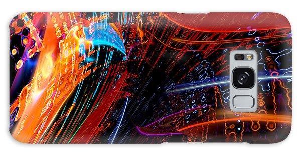 Sudden Celebration Galaxy Case by Margie Chapman